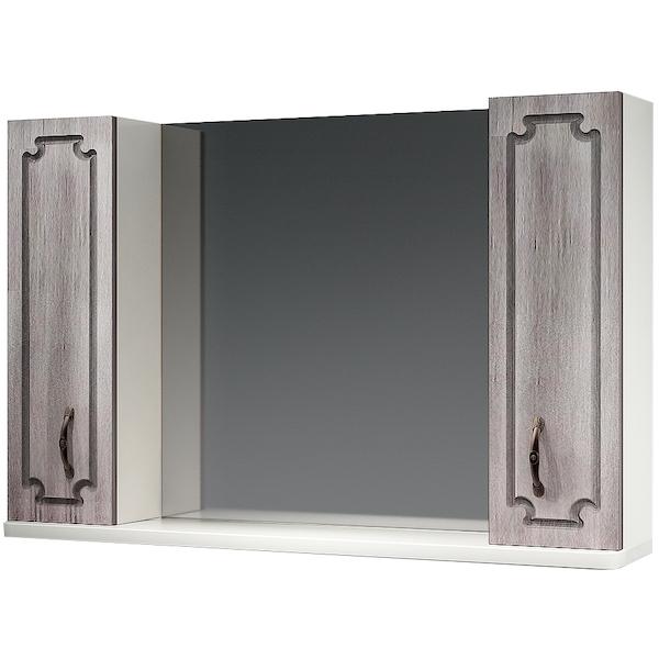 Зеркальный шкаф Какса-А Патина 105 003962 Седой зеркальный шкаф какса а патина 83 003986 седой