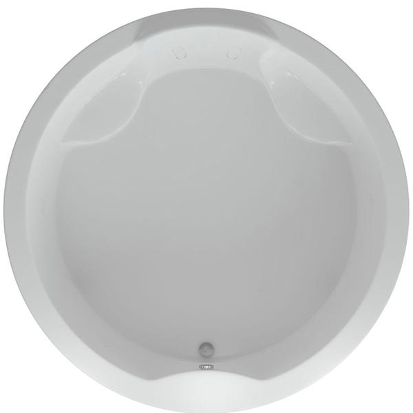 цена Акриловая ванна Акватек Аура 180x180 с гидромассажем плоские форсунки Бронза онлайн в 2017 году