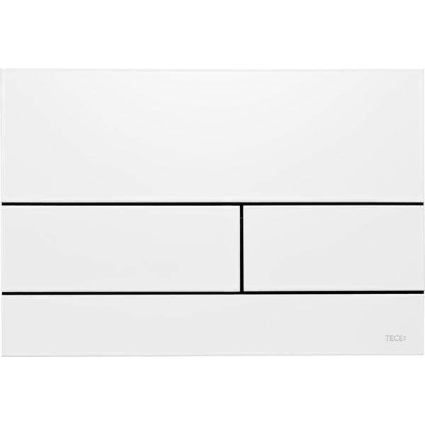 Кнопка смыва Tece Square II 9240834 для унитаза Белая матовая