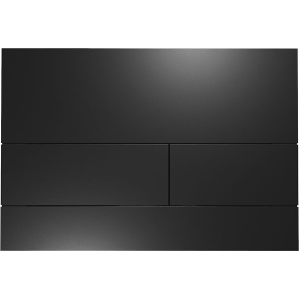 Кнопка смыва Tece Square II 9240833 для унитаза Черная матовая
