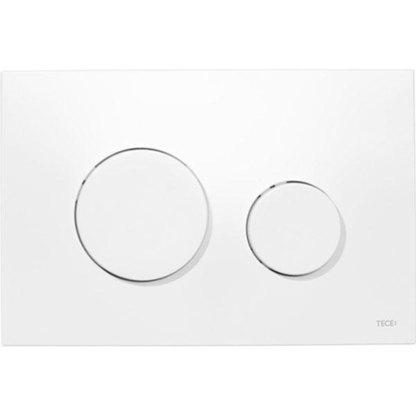Кнопка смыва Tece Loop Plastic 9240600 для унитаза Белая кнопка смыва tece square ii 9240832 для унитаза белая