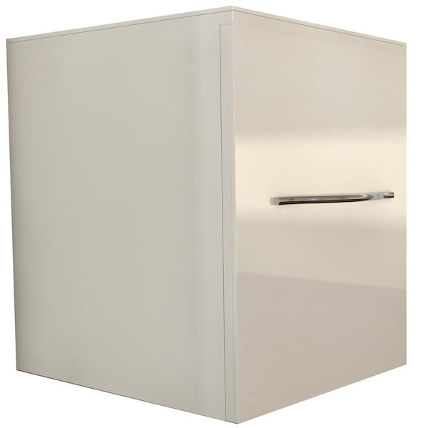 Шкаф-пенал Какса-А Редиссон 30 004303 подвесной Белый шкаф пенал какса а домино 30 003057 белый