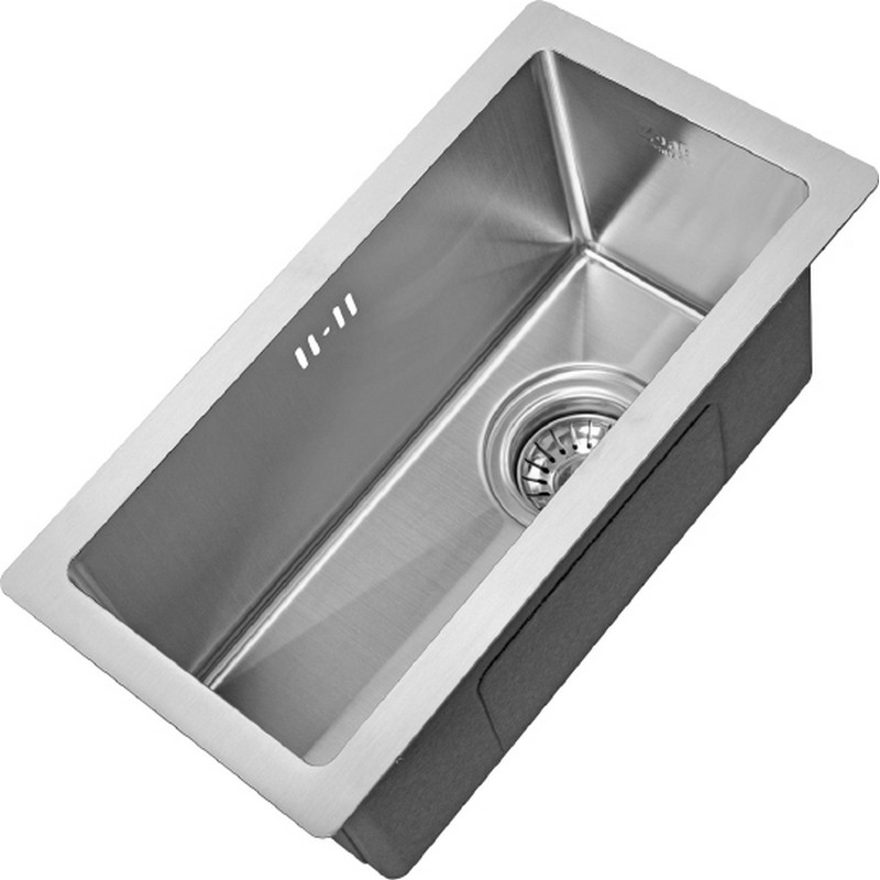 цена на Кухонная мойка ZorG X X-2344 Матовый хром