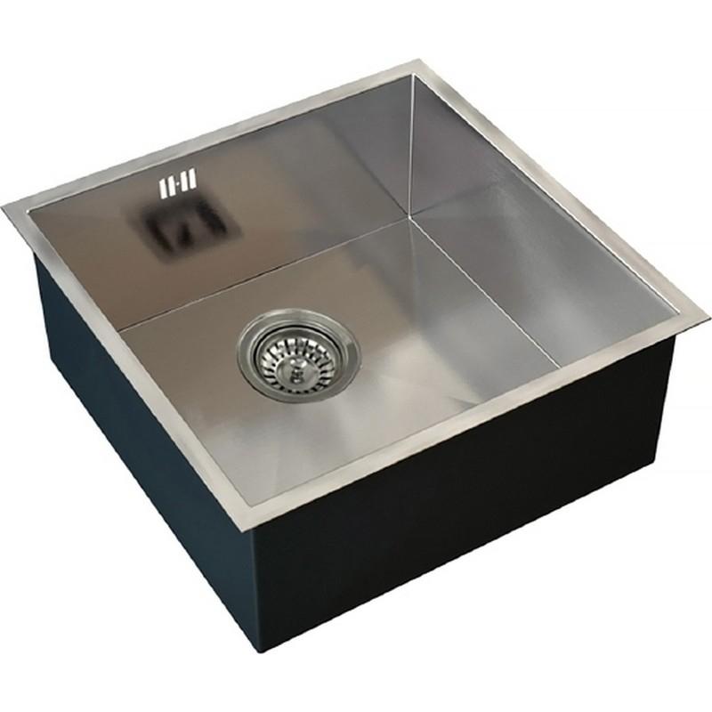 Кухонная мойка ZorG X X-4444 Матовый хром кухонная мойка zorg st hammer sh r 4444 filo