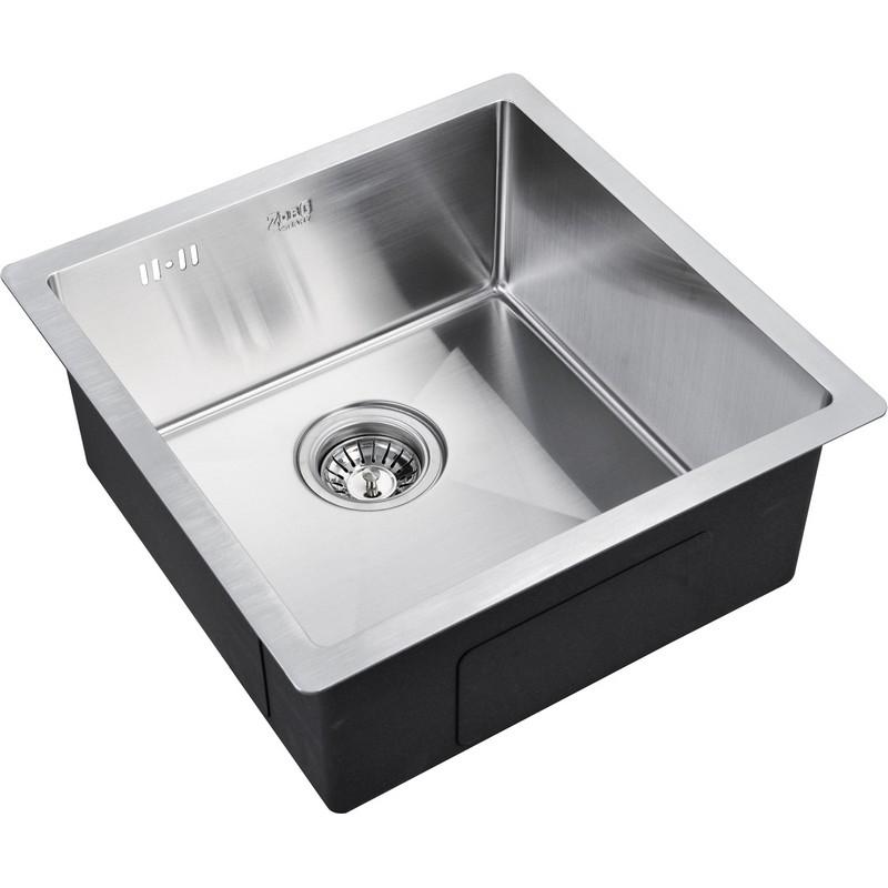 Кухонная мойка ZorG R R 4444 Матовый хром кухонная мойка zorg steel hammer r sh r 4444