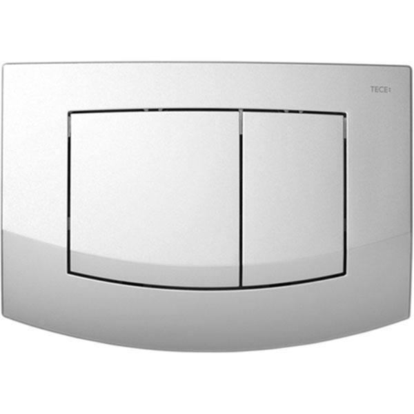 Кнопка смыва Tece Ambia 9240225 для унитаза Хром матовый