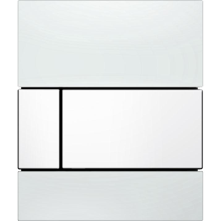 Кнопка смыва Tece Square Urinal 9242800 для писсуара Белая