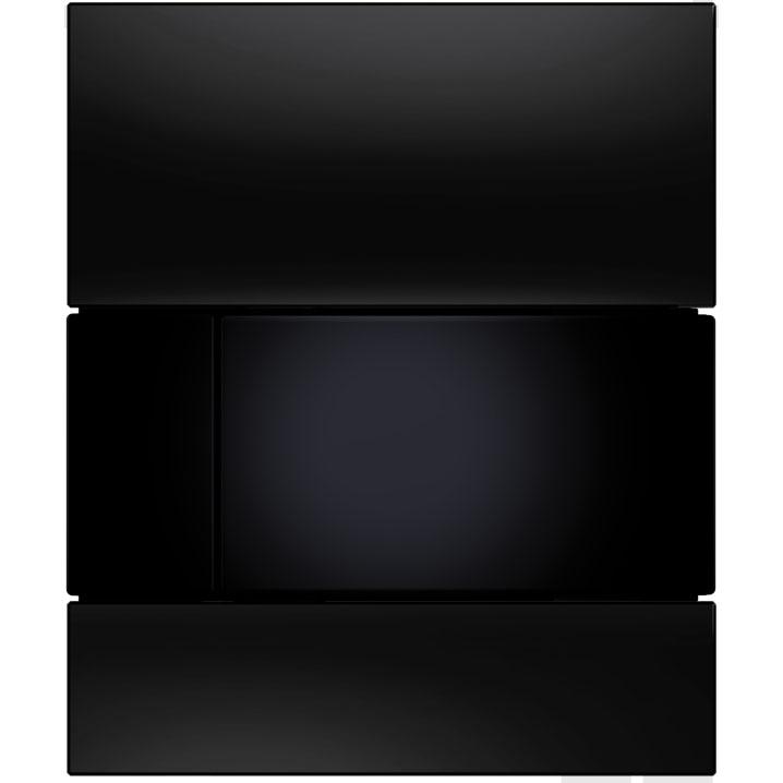Кнопка смыва Tece Square Urinal 9242809 для писсуара Черная