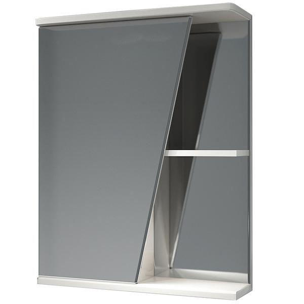 Зеркальный шкаф Какса-А Астра 55 L 003366 Белый зеркальный шкаф какса а астра 55 r 001837 с подсветкой белый