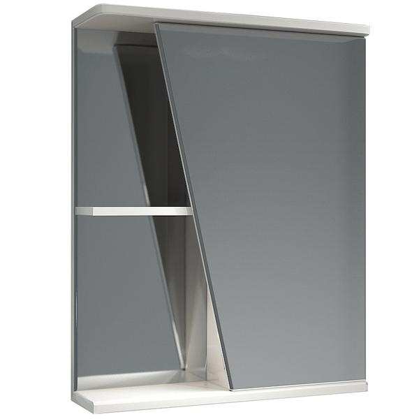 Зеркальный шкаф Какса-А Астра 55 R 003367 Белый зеркальный шкаф bellezza астра 55 с подсветкой r белый
