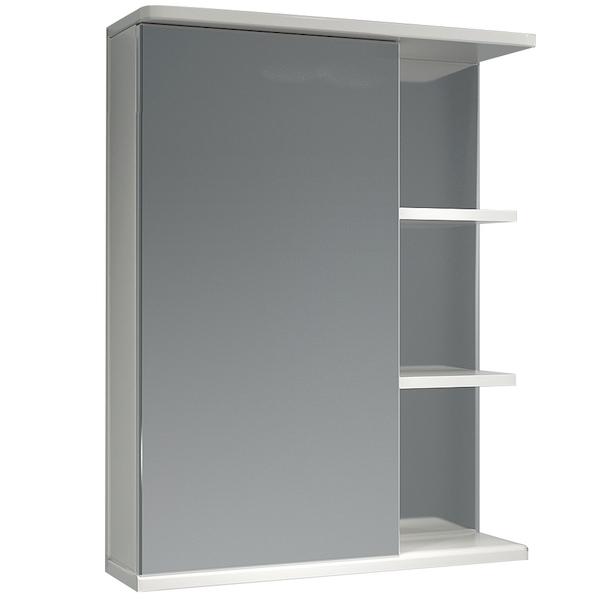Зеркальный шкаф Какса-А Грация 55 L 002833 Белый зеркальный шкаф какса а грация 55 r 003201 с подсветкой белый
