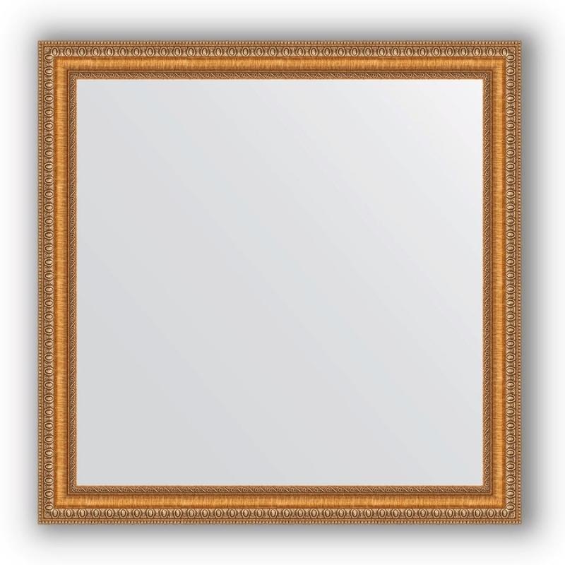 Зеркало Evoform Definite 75х75 Бронзовые бусы на дереве