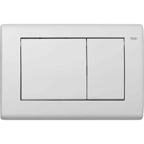 Кнопка смыва Tece Planus 9240322 для унитаза Белая матовая цена и фото