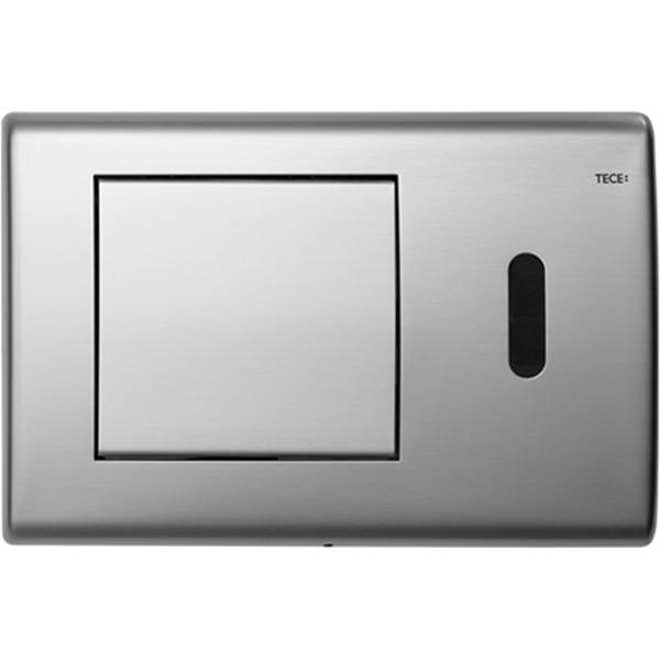 Кнопка смыва Tece Planus 6В 9240350 для унитаза Сатинированная нержавеющая сталь кнопка tece planus 9240360