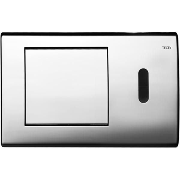 Кнопка смыва Tece Planus 6В 9240351 для унитаза Хром глянцевый кнопка tece planus 9240360