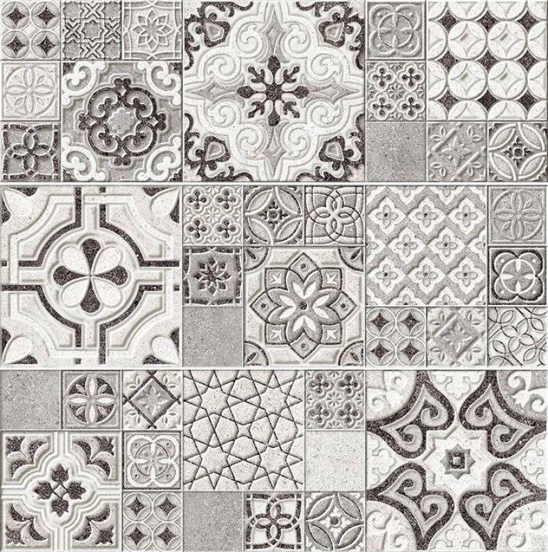 цена на Керамическая плитка Laparet Mason VTA813x60039 Панно из 3-х шт 60х60