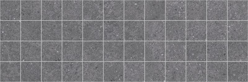 Керамическая плитка Laparet Mason Декор чёрный MM60109 мозаичный 20х60