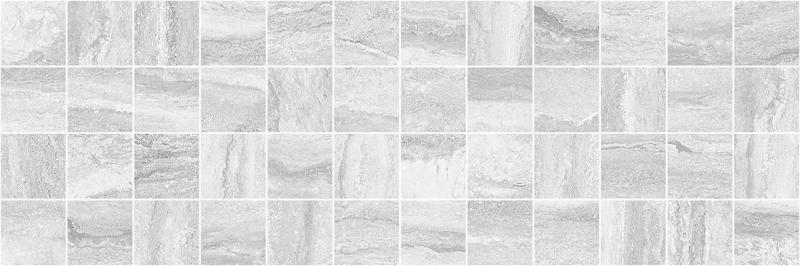 Керамическая плитка Laparet Glossy Декор серый MM11188 мозаичный 20х60 керамическая плитка laparet glossy плитка серый 60110 настенная 20х60