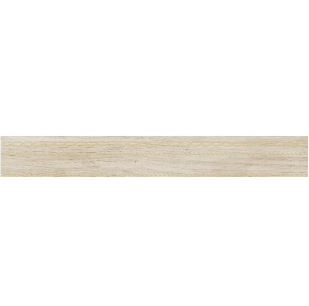Керамическая плитка Laparet Sweep бежевый Бордюр 6х60