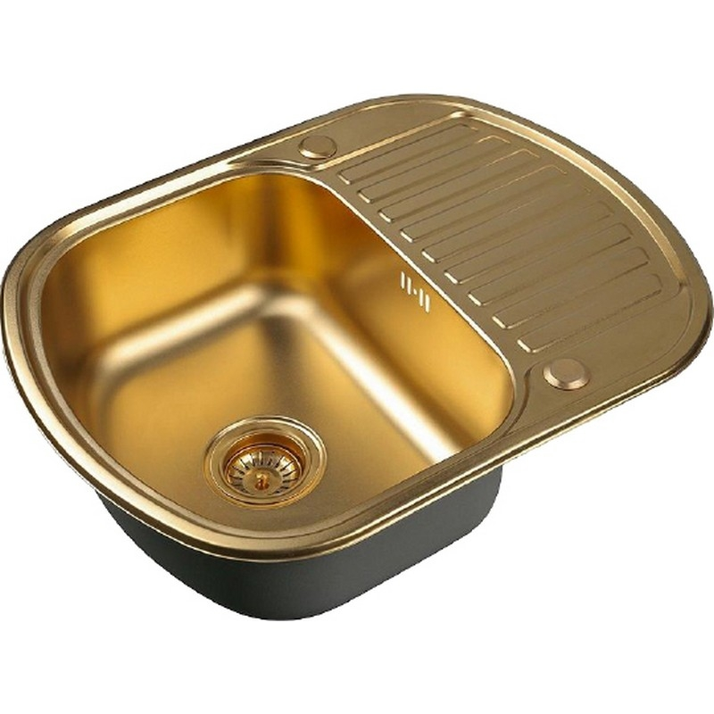 Кухонная мойка ZorG Bronze Штам SZR-6249 BRONZE Бронза фото