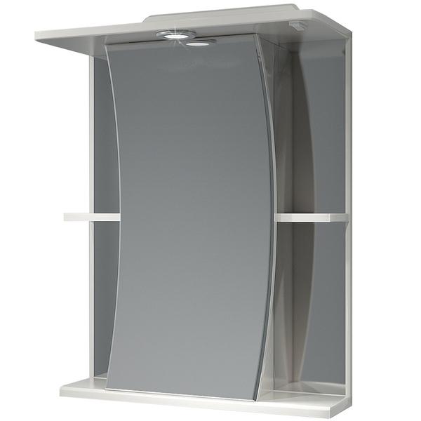 Зеркальный шкаф Какса-А Парус 55 003168 с подсветкой Белый