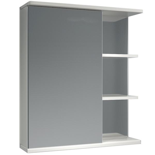 Зеркальный шкаф Какса-А Грация 62 L 003165 Белый зеркальный шкаф какса а грация 55 r 003201 с подсветкой белый