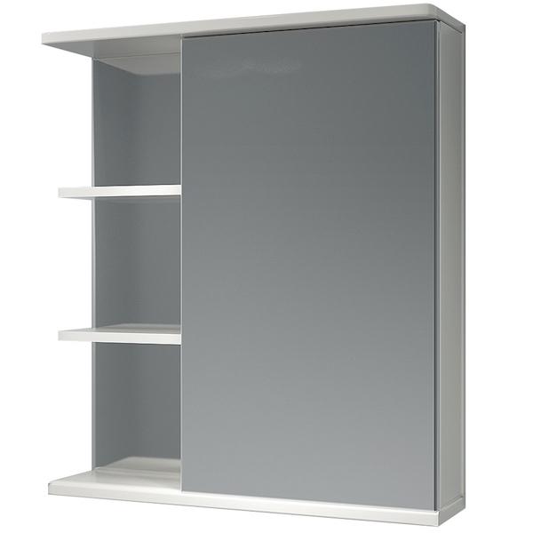 Зеркальный шкаф Какса-А Грация 62 R 003166 Белый зеркальный шкаф какса а витраж 62 r 003315 с подсветкой белый