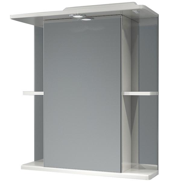 Зеркальный шкаф Какса-А Мадрид 62 002565 с подсветкой Белый зеркальный шкаф какса а витраж 62 r 003315 с подсветкой белый