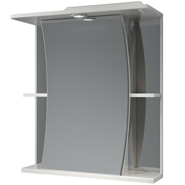 Зеркальный шкаф Какса-А Парус 62 001918 с подсветкой Белый зеркальный шкаф какса а витраж 62 r 003315 с подсветкой белый