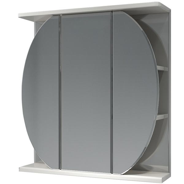 Зеркальный шкаф Какса-А Шар 65 003209 Белый