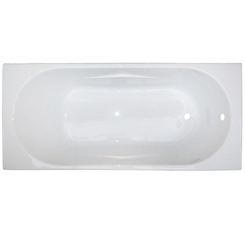 Акриловая ванна BellSan Тора 170x75 без гидромассажа ванна из искусственного камня jacob delafon elite 170x75 с щелевидным переливом e6d031 00 без гидромассажа