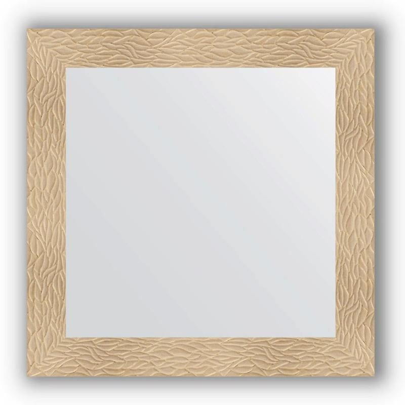 Зеркало Evoform Definite 80х80 Чеканка золотая фото