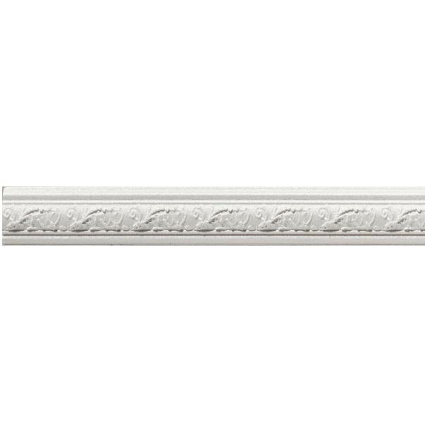 Керамический бордюр Azulev Onice Moldura Aradia Blanco 3х29 см