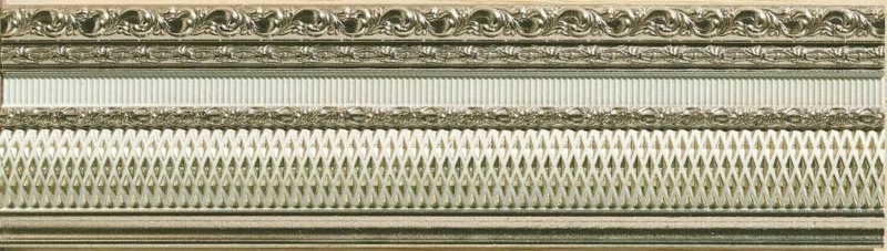 Керамический бордюр Azulev Onice Listelo Freya Marfil 8х29 см