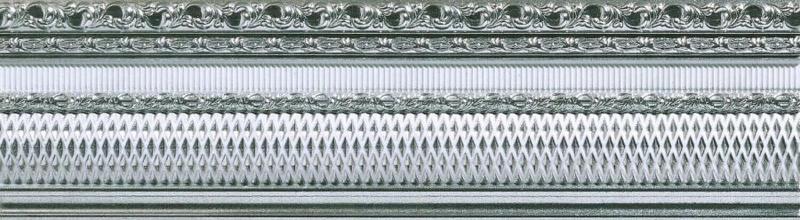Керамический бордюр Azulev Onice Listelo Freya Perla 8х29 см