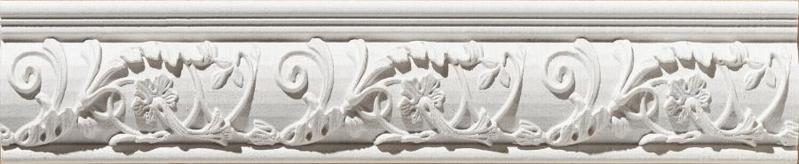 Керамический бордюр Azulev Onice Listelo Aradia Blanco 6х29 см