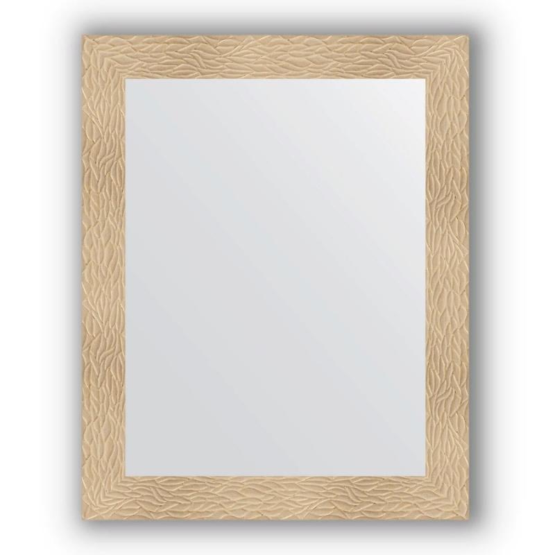 Зеркало Evoform Definite 100х80 Чеканка серебряная