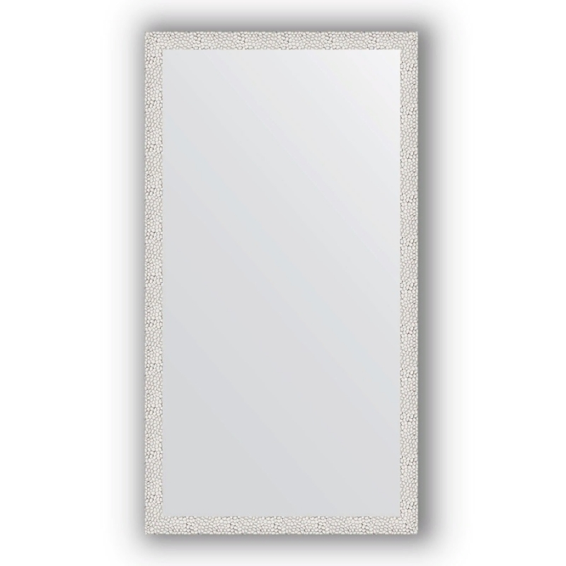 Зеркало Evoform Definite 131х71 Чеканка белая
