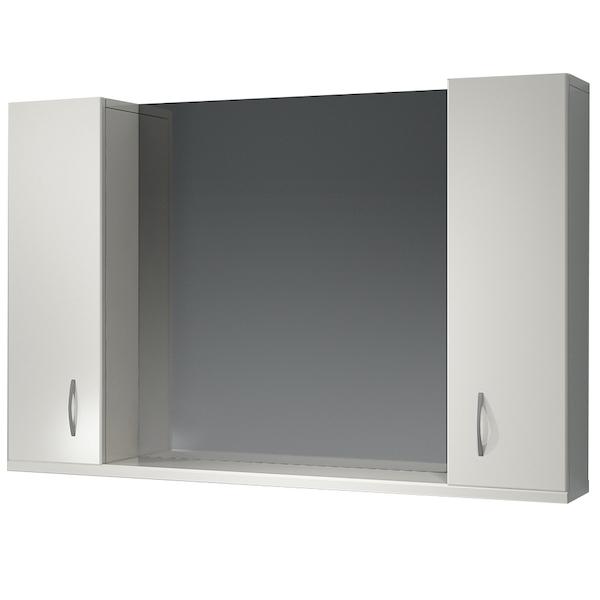 Зеркальный шкаф Какса-А Эко 105 003756 Белый зеркальный шкаф какса а сити 105 004418 подвесной серый гранит