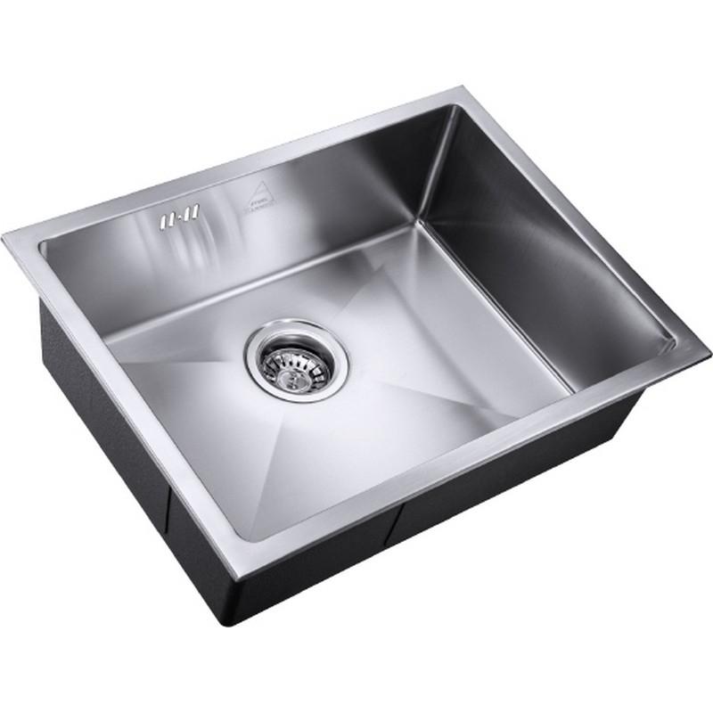 Кухонная мойка ZorG R SH R 5844 Матовый хром кухонная мойка zorg steel hammer r sh r 4444
