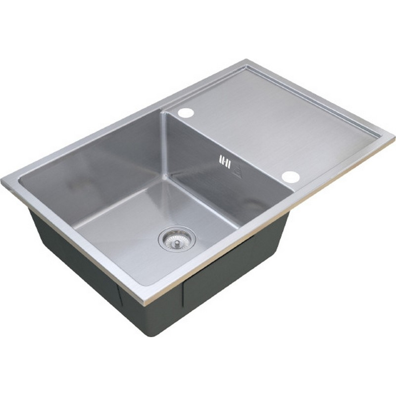 Кухонная мойка ZorG R SH R 7850 Матовый хром кухонная мойка zorg steel hammer r sh r 4444