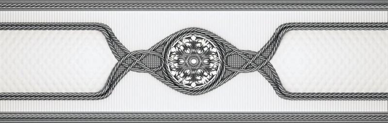 Керамический бордюр Undefasa Embassy Cenefa Gris 8х25 см керамический бордюр undefasa embassy zocalo beige 12х25 см
