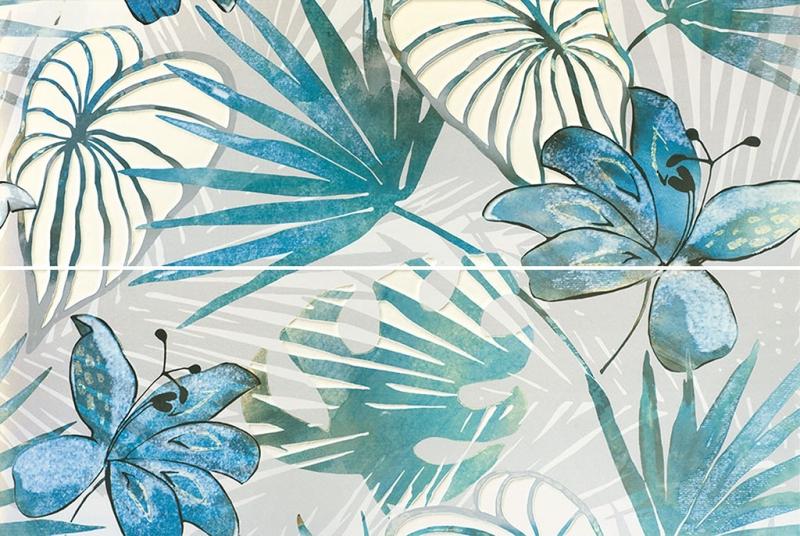 Керамическое панно Azulejos Alcor Lombardia Dec 2 Jungle 65,54х100 см