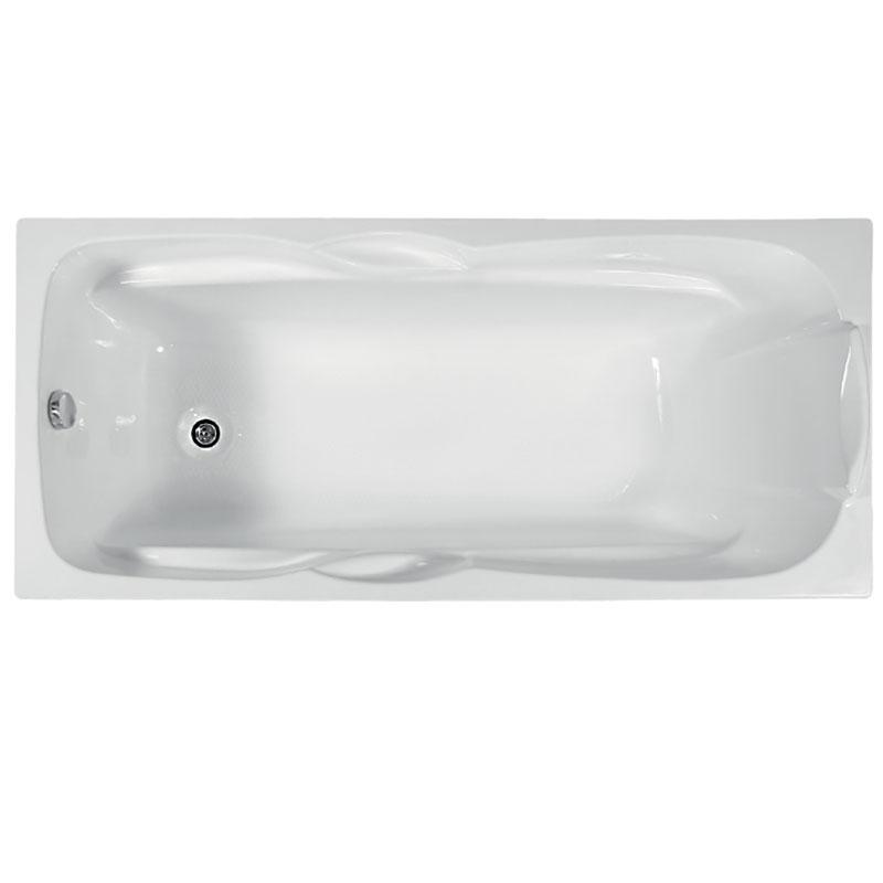 Акриловая ванна BellSan Эрика 170x75 без гидромассажа ванна из искусственного камня jacob delafon elite 170x75 с щелевидным переливом e6d031 00 без гидромассажа