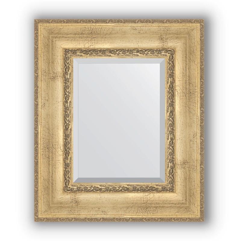 Зеркало Evoform Exclusive 62х52 Состаренная бронза с орнаментом