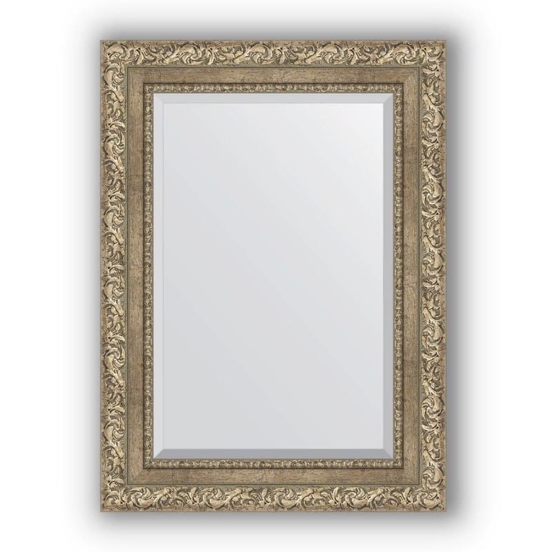 Фото - Зеркало Evoform Exclusive 75х55 Виньетка античная бронза зеркало напольное с фацетом evoform exclusive floor 80x200 см в багетной раме виньетка античная бронза 85 мм by 6114