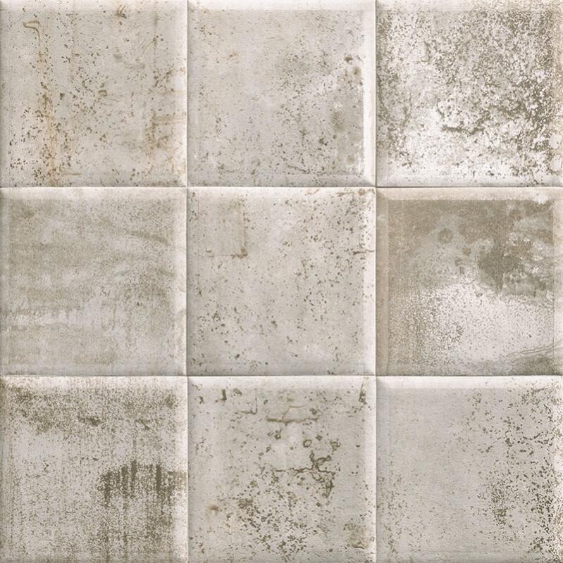Керамическая плитка Mainzu Tin-Tile Grey настенная 20х20 см керамическая плитка mainzu tin tile cream настенная 20х20 см