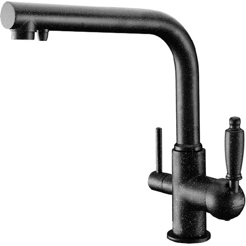 Смеситель для кухни ZorG Clean Water ZR 313 YF-33 ЧЕРНЫЙМЕТА Черный смеситель для кухни zorg clean water zr 515 yf