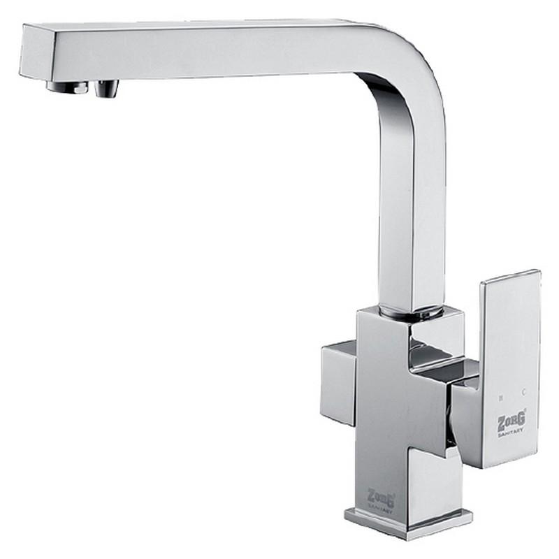 Смеситель для кухни ZorG Clean Water ZR 311 YF Хром смеситель для кухни zorg clean water zr 515 yf