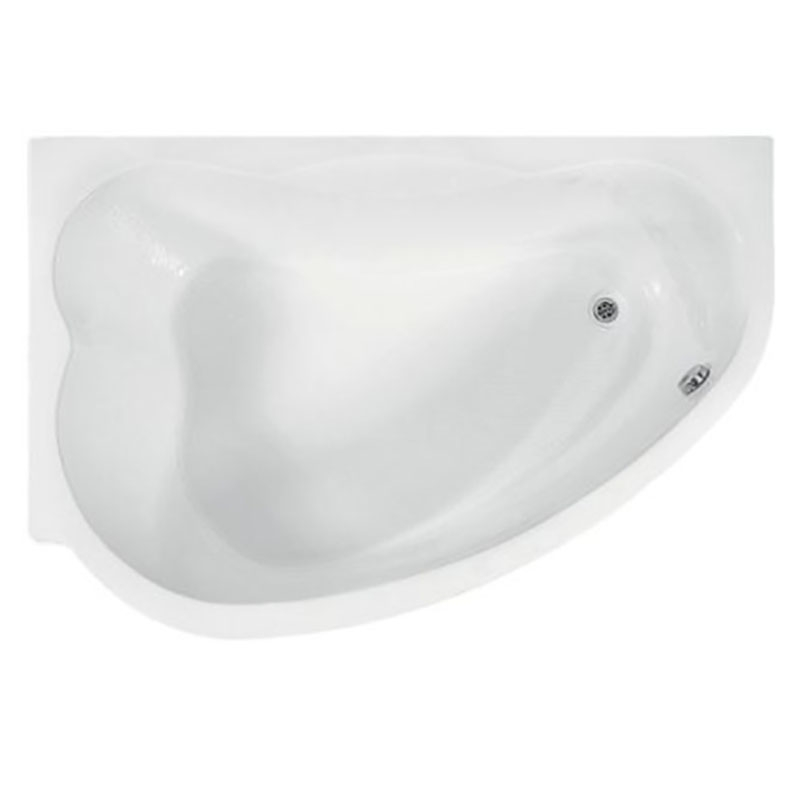 Акриловая ванна BellSan Дарина 165x110 с гидромассажем
